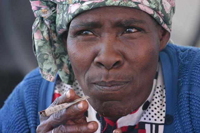 Una donna Nama.