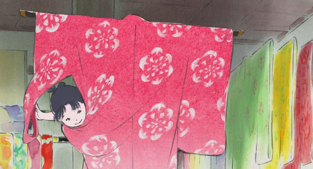 Kaguya, la principessa splendente.