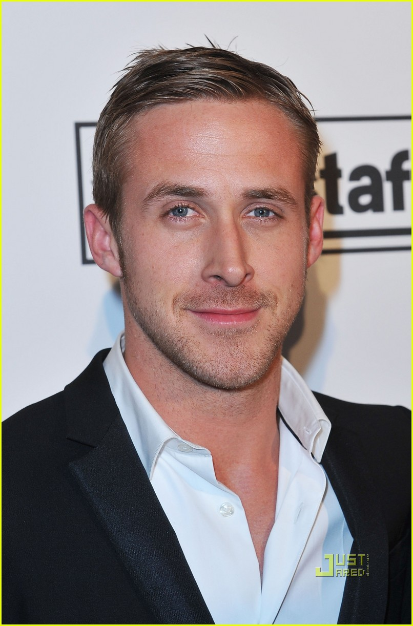 RYAN GOSLING SHORT CASUAL HAIRCUT