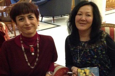 Janie Chang, autrice del romanzo TRE ANIME